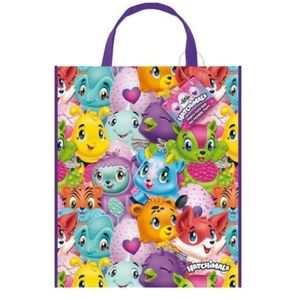 Candy Bags - Hatchimals - Large Tote Plastic